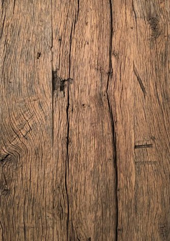 Solid oak 6 cm thickold flooring